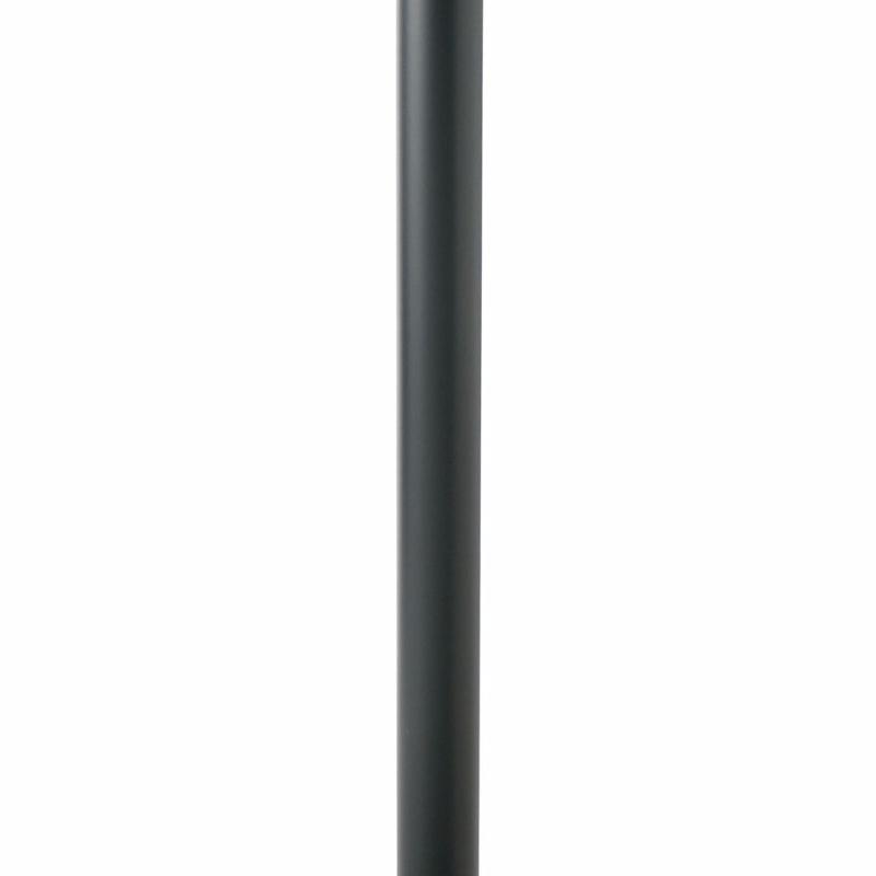 Cavus Columna de Suelo Cilíndrica Acero Negro CAV-C31