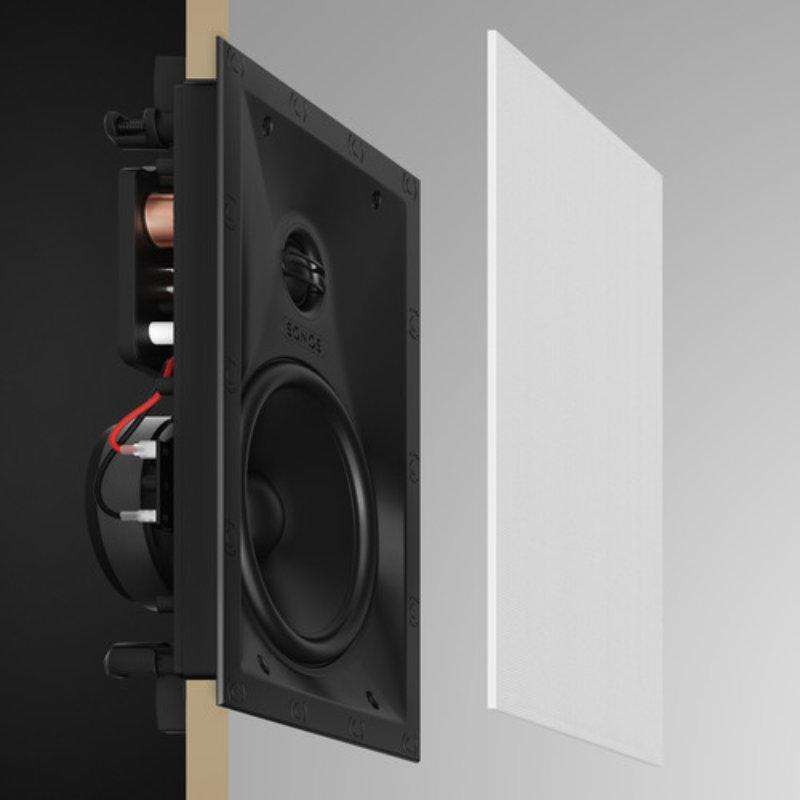Montaje Altavoces Sonos In Wall By Sonance