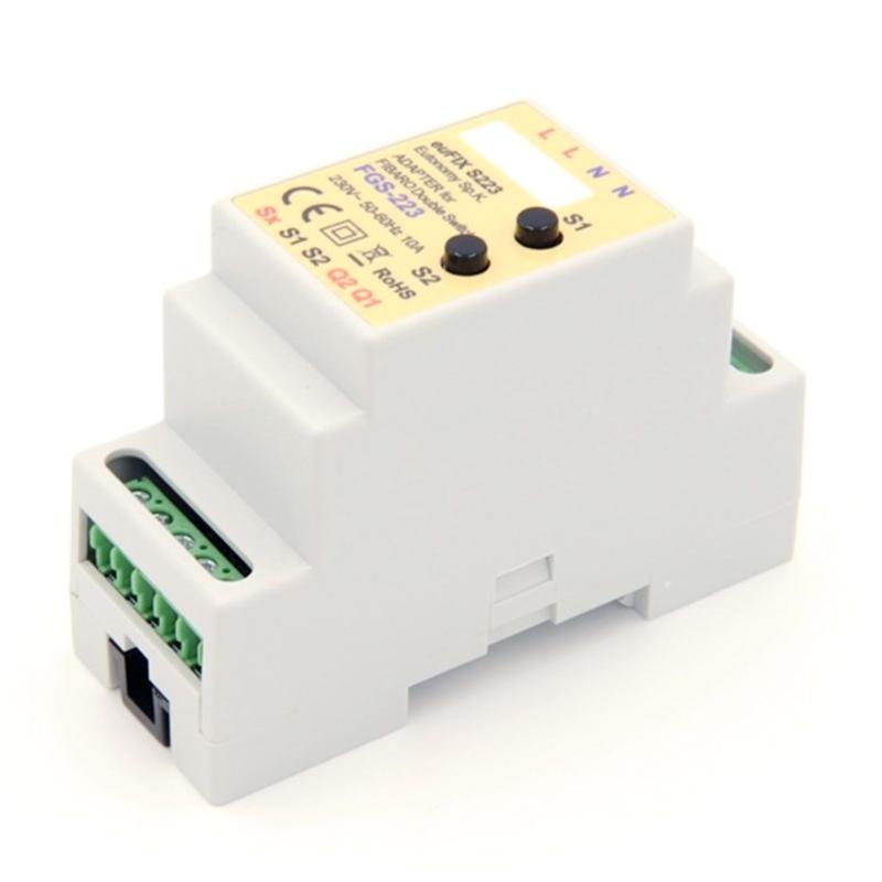 Adaptador Eutonomy Double Switch Fibaro S223