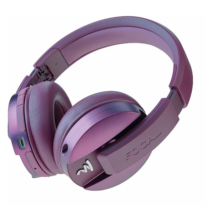 Características Cascos Auriculares Focal Listen Chic Purple