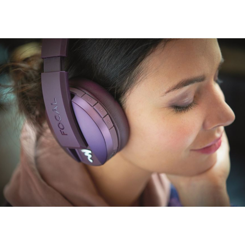 Comprar Focal Cascos Listen Chic Wireless Violeta Purple