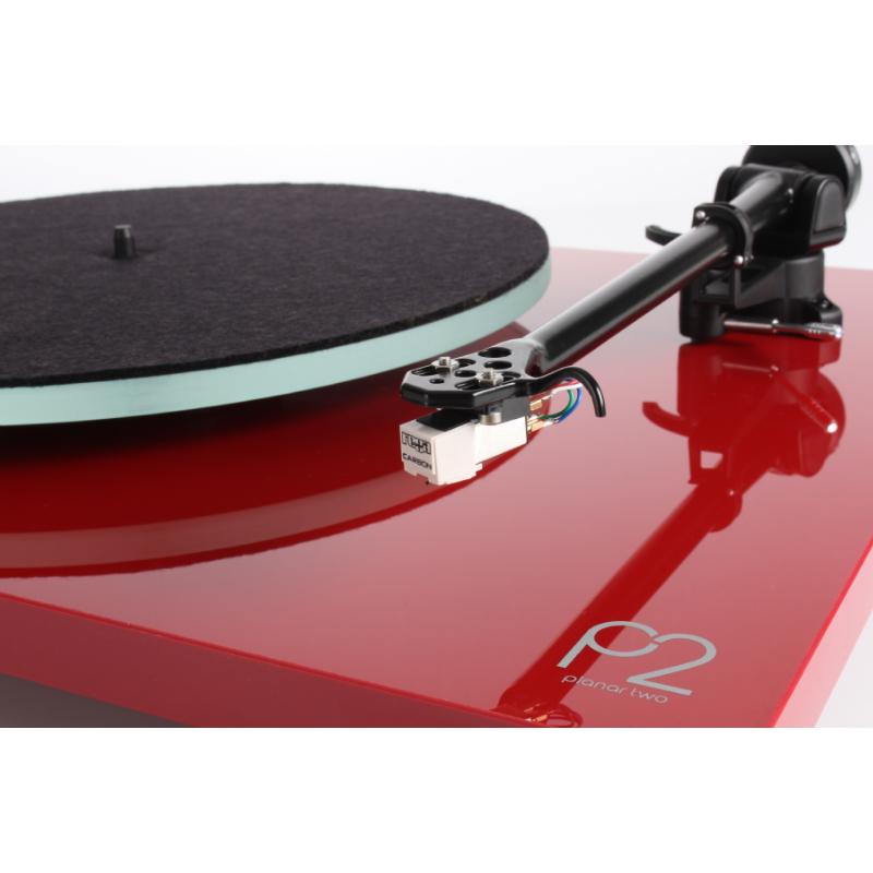Comprar Online Rega Giradiscos Planar 2 Rojo Brillante