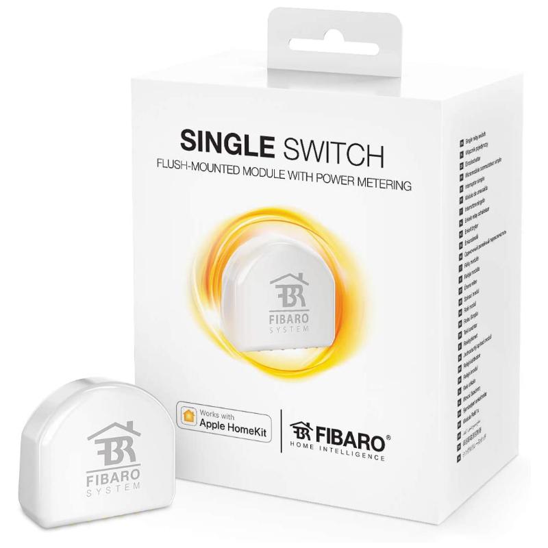 Fibaro Single Switch Regulador de Luz FGBHS-213