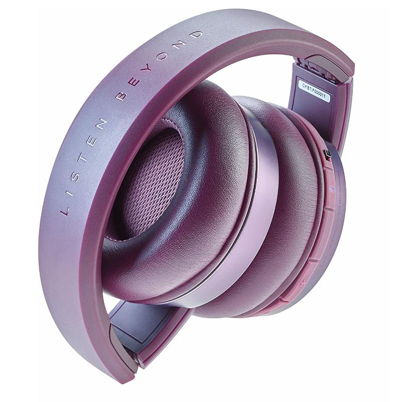 Cascos Auriculares Focal Listen Chic Purple Violetas Cerrados
