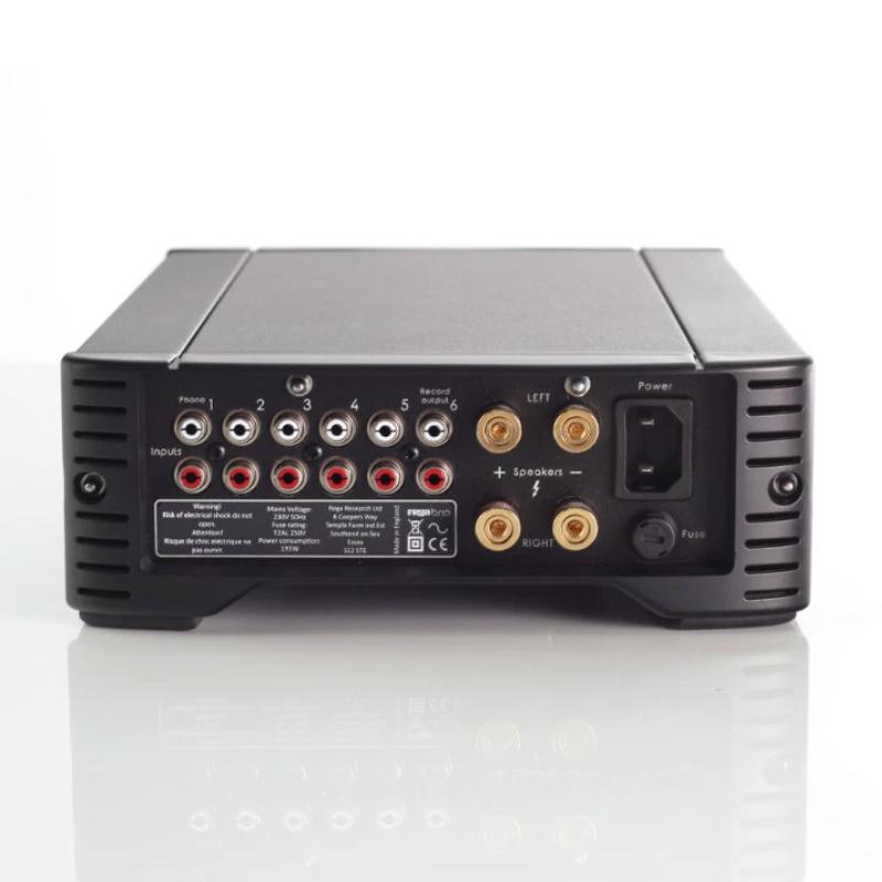 Características y Conexiones del Amplificador Rega Brio