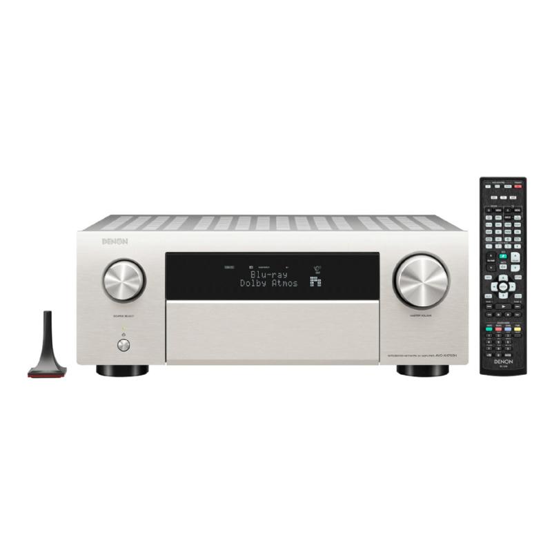 Comprar Denon Amplificador AV X4700H Plateado Silver España Valencia