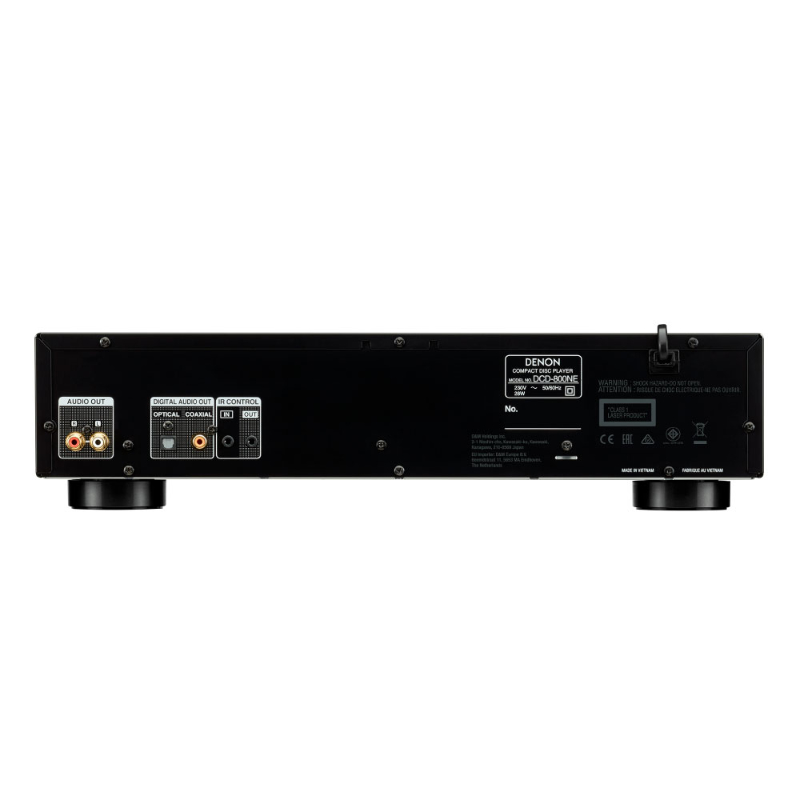 Conexiones DENON DCD-800ne