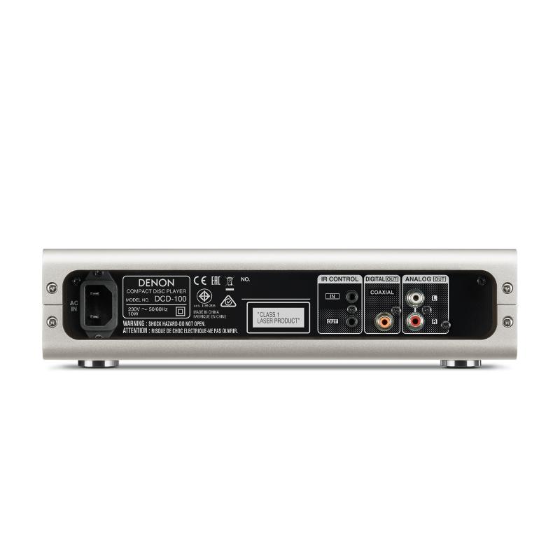 Conexiones Denon Reproductor de CD DCD-100
