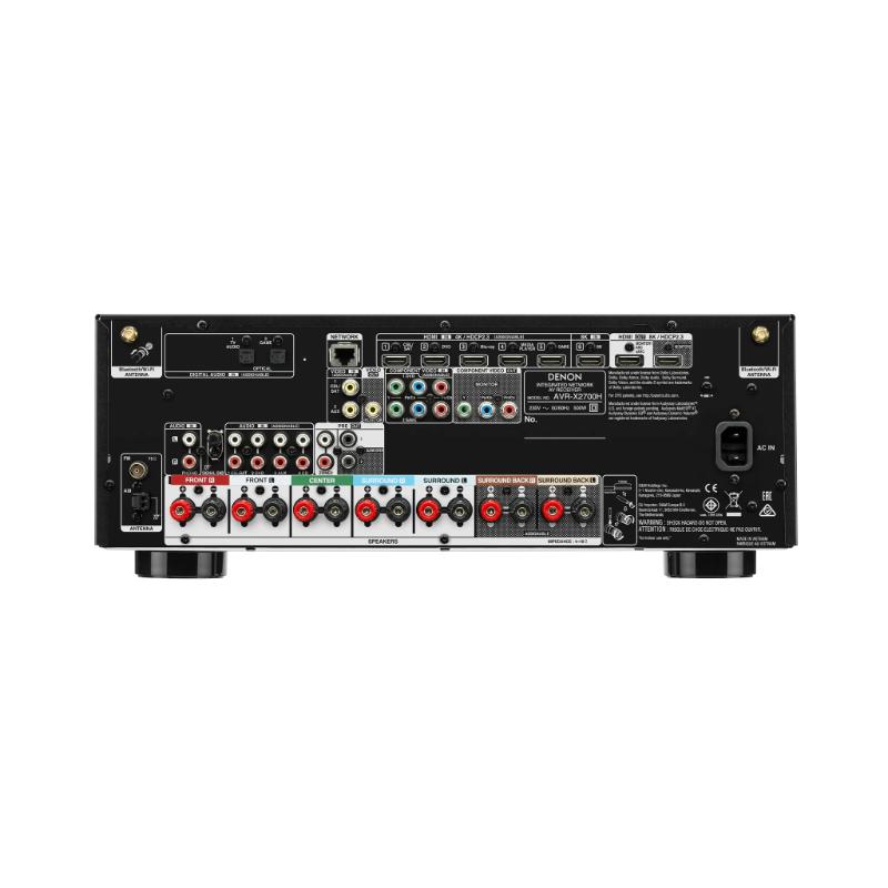 Conexiones Receptor AV Denon AVR X2700H