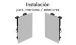 Altavoces de Instalación de Interior / Exterior